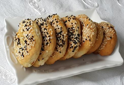 Tuzlu Simit Kurabiye
