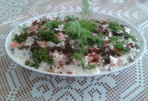 Kış  Sebzelerinden Salata
