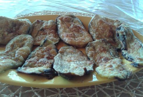 Süt Kaymaklı Patlıcan Kızartması