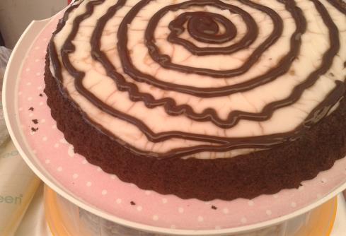 Beyaz Kremalı Kek