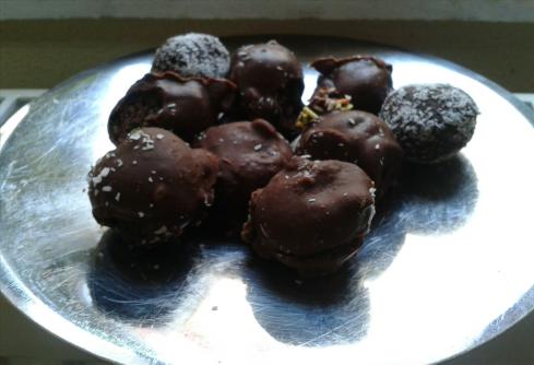 Çikolatalı Toplar