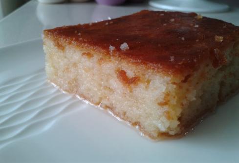 Şerbetli kek