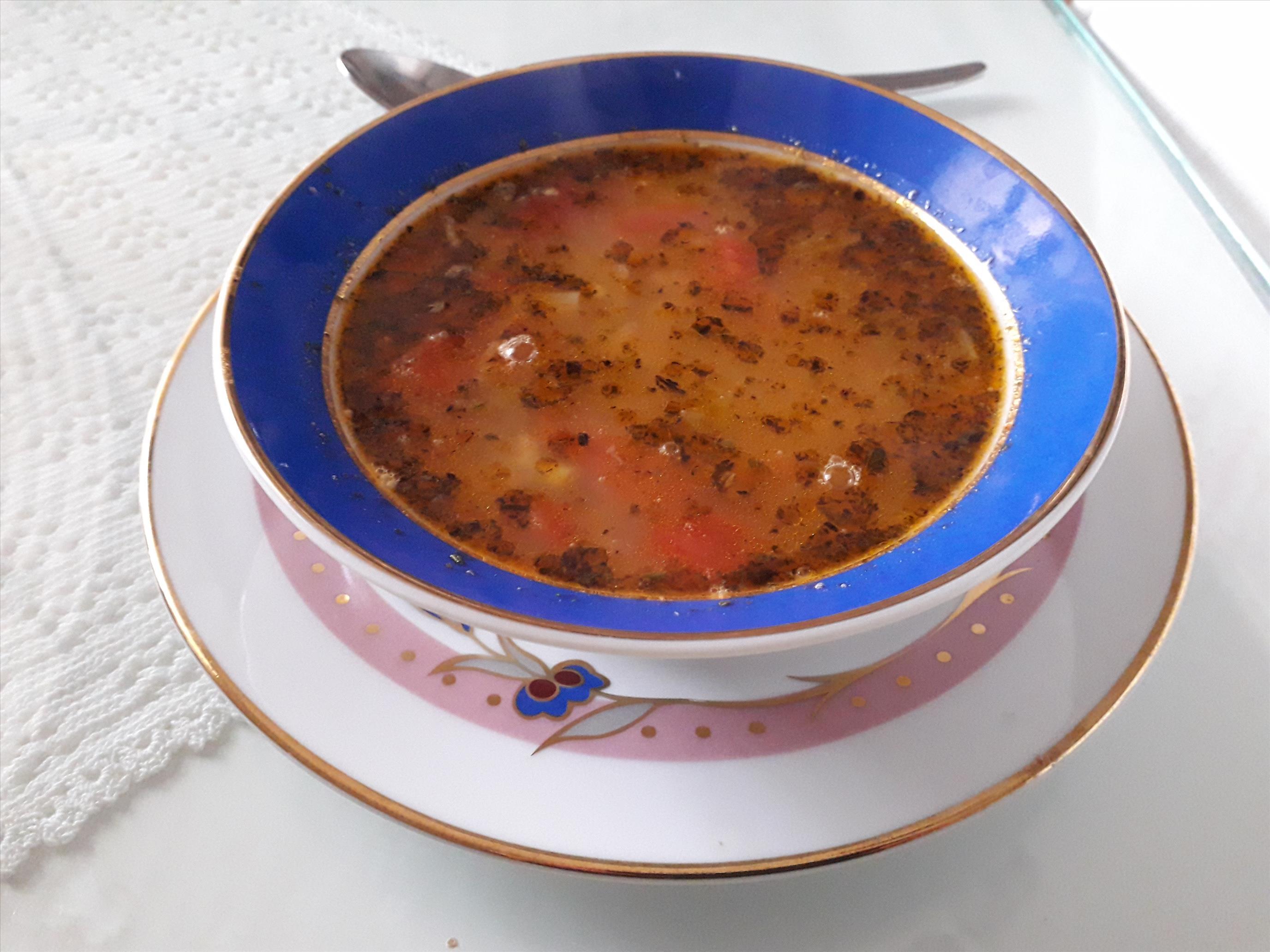 Mercimekli Bulgur Çorbası