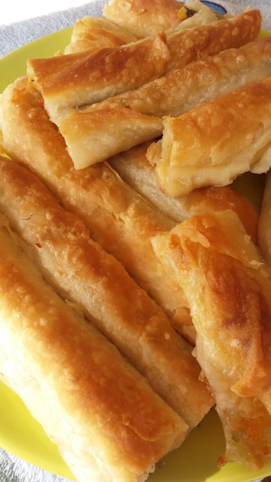 Tereyağlı Çıtır Kol Böreği