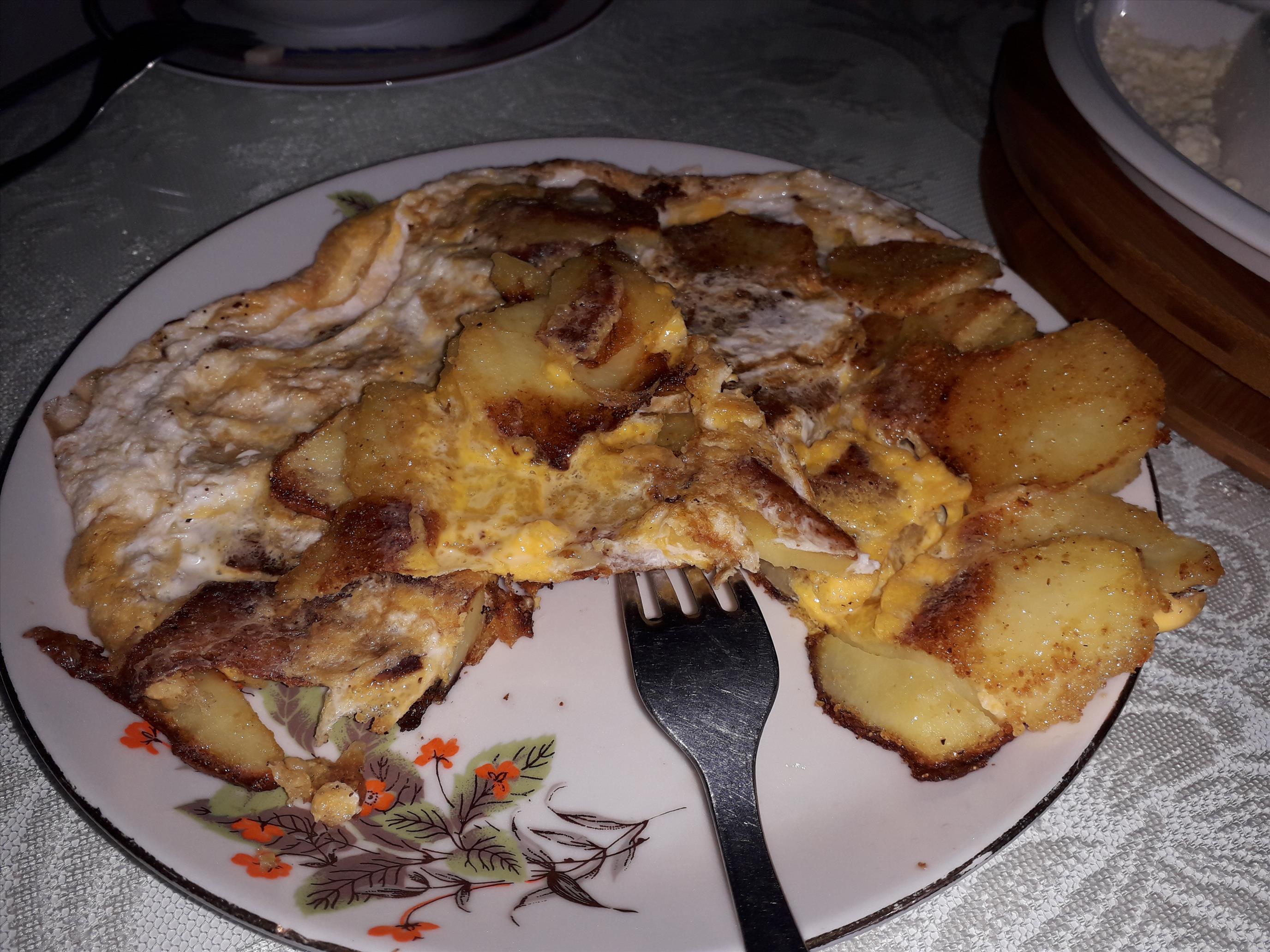 Mısır Unlu  Patates Tava