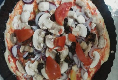 Evdekilerden Pizza