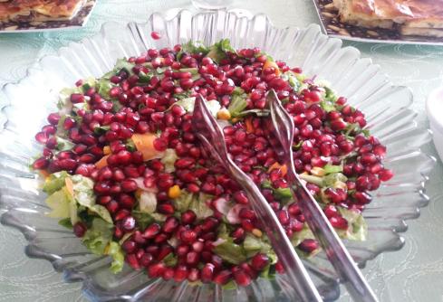 Narlı Yeşil Salata
